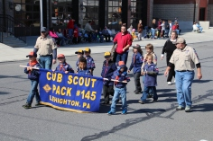 Parade for New Fire Station, Pumper Truck, Boat, Lehighton Fire Department, Lehighton (235)
