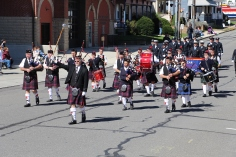 Parade for New Fire Station, Pumper Truck, Boat, Lehighton Fire Department, Lehighton (241)