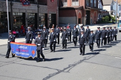 Parade for New Fire Station, Pumper Truck, Boat, Lehighton Fire Department, Lehighton (247)