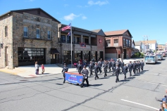 Parade for New Fire Station, Pumper Truck, Boat, Lehighton Fire Department, Lehighton (248)