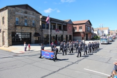 Parade for New Fire Station, Pumper Truck, Boat, Lehighton Fire Department, Lehighton (249)