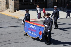 Parade for New Fire Station, Pumper Truck, Boat, Lehighton Fire Department, Lehighton (252)