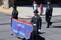 Parade for New Fire Station, Pumper Truck, Boat, Lehighton Fire Department, Lehighton (253)