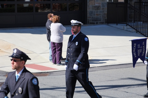 Parade for New Fire Station, Pumper Truck, Boat, Lehighton Fire Department, Lehighton (254)