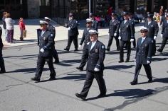 Parade for New Fire Station, Pumper Truck, Boat, Lehighton Fire Department, Lehighton (256)