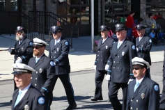 Parade for New Fire Station, Pumper Truck, Boat, Lehighton Fire Department, Lehighton (258)