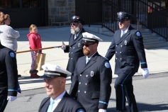 Parade for New Fire Station, Pumper Truck, Boat, Lehighton Fire Department, Lehighton (259)