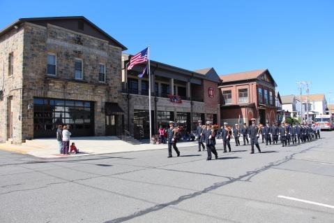 Parade for New Fire Station, Pumper Truck, Boat, Lehighton Fire Department, Lehighton (26)