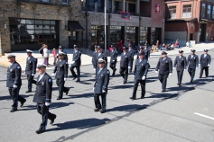Parade for New Fire Station, Pumper Truck, Boat, Lehighton Fire Department, Lehighton (260)