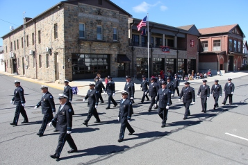 Parade for New Fire Station, Pumper Truck, Boat, Lehighton Fire Department, Lehighton (262)