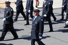 Parade for New Fire Station, Pumper Truck, Boat, Lehighton Fire Department, Lehighton (263)