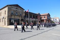 Parade for New Fire Station, Pumper Truck, Boat, Lehighton Fire Department, Lehighton (27)