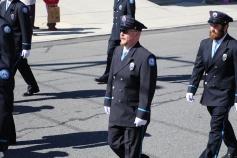Parade for New Fire Station, Pumper Truck, Boat, Lehighton Fire Department, Lehighton (270)