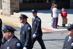 Parade for New Fire Station, Pumper Truck, Boat, Lehighton Fire Department, Lehighton (271)