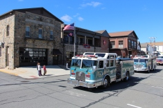 Parade for New Fire Station, Pumper Truck, Boat, Lehighton Fire Department, Lehighton (279)
