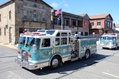 Parade for New Fire Station, Pumper Truck, Boat, Lehighton Fire Department, Lehighton (280)