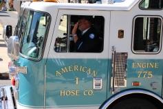 Parade for New Fire Station, Pumper Truck, Boat, Lehighton Fire Department, Lehighton (281)