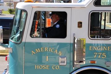 Parade for New Fire Station, Pumper Truck, Boat, Lehighton Fire Department, Lehighton (283)
