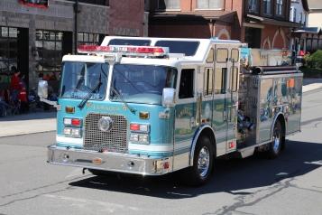 Parade for New Fire Station, Pumper Truck, Boat, Lehighton Fire Department, Lehighton (284)