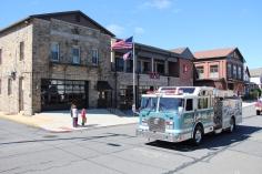 Parade for New Fire Station, Pumper Truck, Boat, Lehighton Fire Department, Lehighton (285)