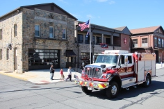 Parade for New Fire Station, Pumper Truck, Boat, Lehighton Fire Department, Lehighton (289)
