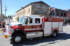Parade for New Fire Station, Pumper Truck, Boat, Lehighton Fire Department, Lehighton (290)