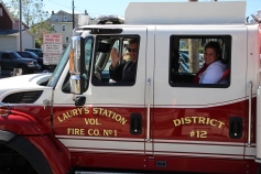 Parade for New Fire Station, Pumper Truck, Boat, Lehighton Fire Department, Lehighton (293)