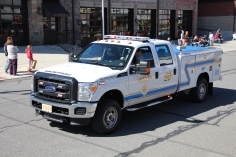 Parade for New Fire Station, Pumper Truck, Boat, Lehighton Fire Department, Lehighton (296)