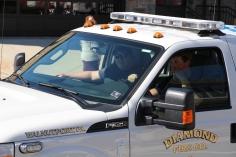 Parade for New Fire Station, Pumper Truck, Boat, Lehighton Fire Department, Lehighton (297)