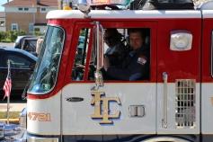 Parade for New Fire Station, Pumper Truck, Boat, Lehighton Fire Department, Lehighton (302)