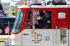Parade for New Fire Station, Pumper Truck, Boat, Lehighton Fire Department, Lehighton (303)