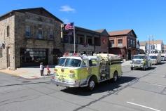 Parade for New Fire Station, Pumper Truck, Boat, Lehighton Fire Department, Lehighton (304)