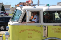 Parade for New Fire Station, Pumper Truck, Boat, Lehighton Fire Department, Lehighton (307)