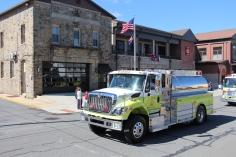 Parade for New Fire Station, Pumper Truck, Boat, Lehighton Fire Department, Lehighton (308)