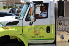 Parade for New Fire Station, Pumper Truck, Boat, Lehighton Fire Department, Lehighton (311)