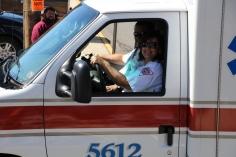 Parade for New Fire Station, Pumper Truck, Boat, Lehighton Fire Department, Lehighton (318)