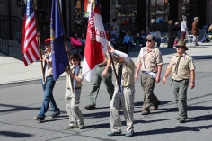 Parade for New Fire Station, Pumper Truck, Boat, Lehighton Fire Department, Lehighton (322)
