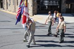 Parade for New Fire Station, Pumper Truck, Boat, Lehighton Fire Department, Lehighton (323)