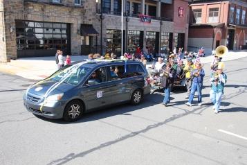 Parade for New Fire Station, Pumper Truck, Boat, Lehighton Fire Department, Lehighton (328)