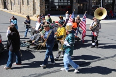Parade for New Fire Station, Pumper Truck, Boat, Lehighton Fire Department, Lehighton (334)