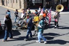 Parade for New Fire Station, Pumper Truck, Boat, Lehighton Fire Department, Lehighton (334)