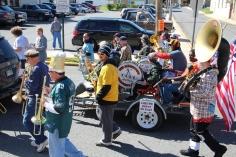 Parade for New Fire Station, Pumper Truck, Boat, Lehighton Fire Department, Lehighton (340)
