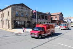 Parade for New Fire Station, Pumper Truck, Boat, Lehighton Fire Department, Lehighton (341)
