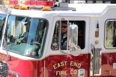 Parade for New Fire Station, Pumper Truck, Boat, Lehighton Fire Department, Lehighton (346)