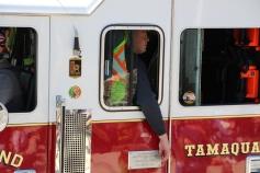 Parade for New Fire Station, Pumper Truck, Boat, Lehighton Fire Department, Lehighton (347)