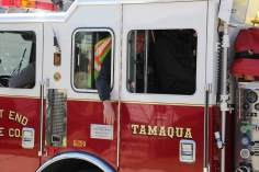 Parade for New Fire Station, Pumper Truck, Boat, Lehighton Fire Department, Lehighton (352)