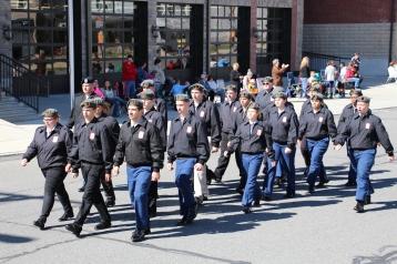Parade for New Fire Station, Pumper Truck, Boat, Lehighton Fire Department, Lehighton (360)