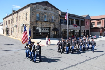 Parade for New Fire Station, Pumper Truck, Boat, Lehighton Fire Department, Lehighton (361)