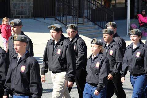 Parade for New Fire Station, Pumper Truck, Boat, Lehighton Fire Department, Lehighton (364)