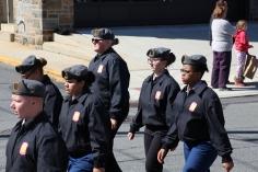 Parade for New Fire Station, Pumper Truck, Boat, Lehighton Fire Department, Lehighton (367)